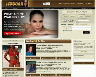 casnovia cougars personals Gents who want to date older gals and ladies who love younger men: check out  this list of dating sites catering specifically to you.