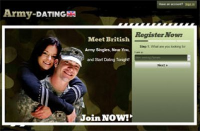 army dating sites uk