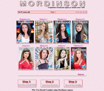 Mordinson.co.uk