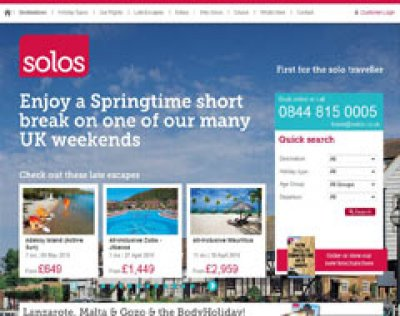 SolosHolidays.co.uk