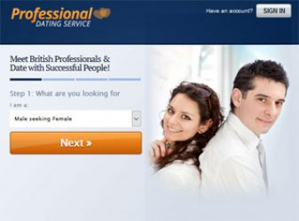 ProfessionalDatingService.co.uk