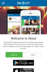 dating sites like skout problems