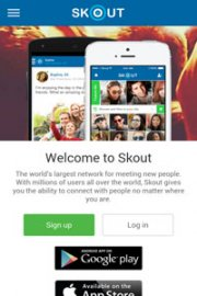 Skout dating sign up